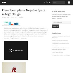 Clever Examples of Negative Space in Logo Design