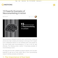 15 Examples of Neuromarketing in Action