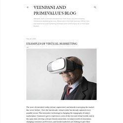 Examples of Virtual Marketing
