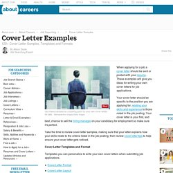 three tips for writing an effective cover letter