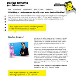 Design Examples « Design Thinking for Educators