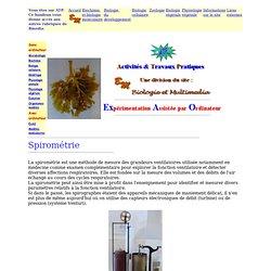 ExAO : spirométrie