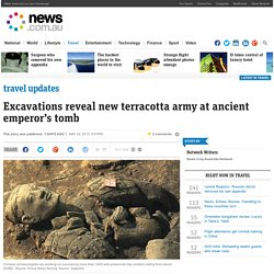 China begins to excavate new terracotta army figures