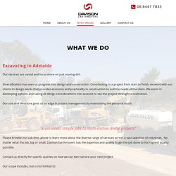 Excavating Services in Adelaide