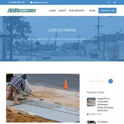Asphalt vs. Concrete Driveway: know the pros and cons - AWR Corp - Building