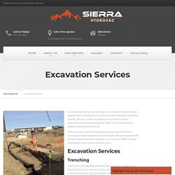 Western Canada Excavation Services...
