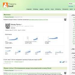 Блог Николая Павлова