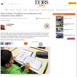 Evaluations scolaires : l'excellence ne se réduit pas à un bulletin de notes !
