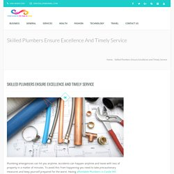 Skilled Plumbers Ensure Excellence and Timely Service – pressedpetalsinn