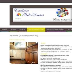 Excellence Multi Services - Peinture ( Armoire de cuisine )