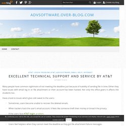 Excellent Technical Support And Service By AT&T - advsoftware.over-blog.com