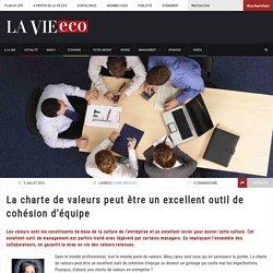La charte de valeurs peut être un excellent outil de cohésion d'équipe – Lavieeco