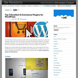 Top 5 Excellent E-Commerce Plugins for WordPress