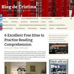 6 Excellent Free Sites to Practise Reading Comprehension