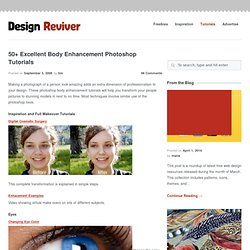 50+ Excellent Body Enhancement Photoshop Tutorials
