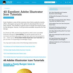 40 Excellent Adobe Illustrator Icon Tutorials
