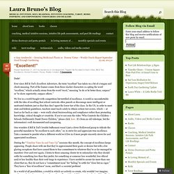 """Excellent!"" 
