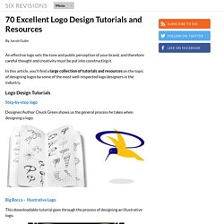 70 Excellent Logo Design Tutorials and Resources