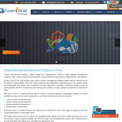 Drupal Website Development Company in India