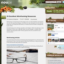 35 Excellent Wireframing Resources - Noupe Design Blog