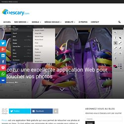 Picozu: une excellente application Web pour retoucher vos photos