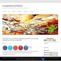 Xodo docs: une excellente application pour lire et annoter vos pdf (win10, iOs et Android)