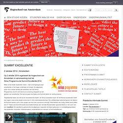 Summit Excellentie 2014 - HvA -Hogeschool van Amsterdam