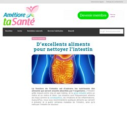 D'excellents aliments pour nettoyer l'intestin