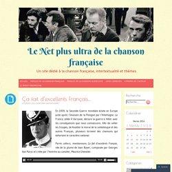 Le Net plus ultra de la chanson française