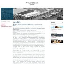 Excellents résultats pour le Groupe Volkswagen au premier semestre 2015