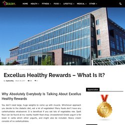 Excellus Healthy Rewards - What Is It?