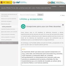 Guía práctica de licencias de uso para docentes