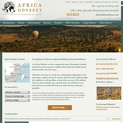 African Safari Club – Kenya Holidays and Nile Cruises
