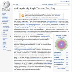 An Exceptionally Simple Theory of Everything