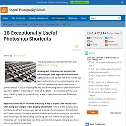 18 Exceptionally Useful Photoshop Shortcuts