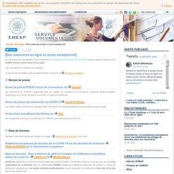 [Des ressources en ligne en accès exceptionnel] – Service documentation de l'EHESP