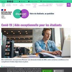 Aide exceptionnelle pour les étudiants - etudiant.gouv.fr