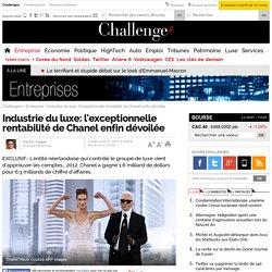 Industrie du luxe: l'exceptionnelle rentabilité de Chanel enfin dévoilée - 9 janvier 2014