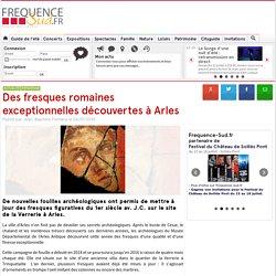 Des fresques romaines exceptionnelles découvertes à Arles - - Arles