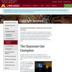 University of Minnesota Libraries · University of Minnesota Libraries