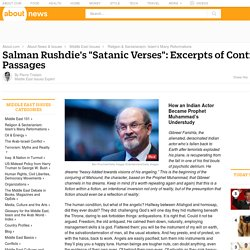 "Rushdie's ""Satanic Verses"": Excerpts of Controversial Passages - Controversial Quotes from ""The Satanic Verses"""