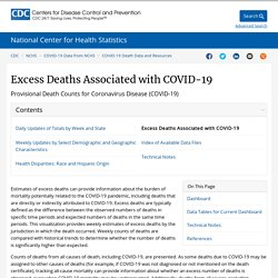 Excess Deaths Associated with COVID-19