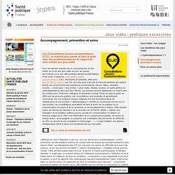 INPES - Jeux vidéo : pratiques excessives - Accompagnement, prévention et soins