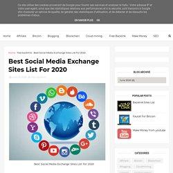 Best Social Media Exchange Sites List For 2020 - Earn money Make money online Online Income Digital , Support , Bengal