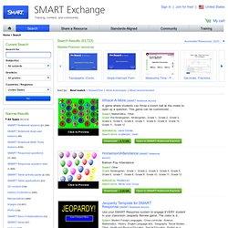 Search Lesson Plans by Keyword and Subject for Your SMART Board - SMART Exchange