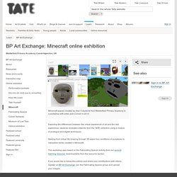BP Art Exchange: Minecraft online exhibition