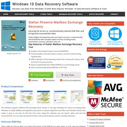 Exchange Recovery Tool to Repair & Recover Exchange Database EDB File