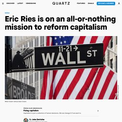 Eric Ries' Long-Term Stock Exchange aims to reform capitalism