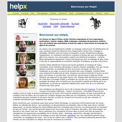 Help Exchange : volontariat gratuit à l'étranger, Australie, Nouvelle-Zélande, Canada, Europe