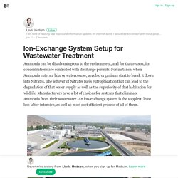 Ion-Exchange System Setup for Wastewater Treatment – Linda Hudson – Medium
